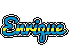 Enrique sweden logo