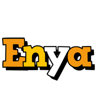 Enya cartoon logo