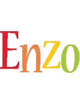Enzo birthday logo