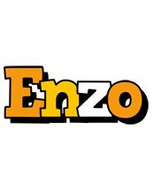 Enzo cartoon logo