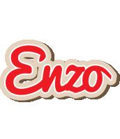 Enzo chocolate logo
