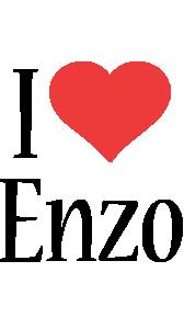 Enzo i-love logo