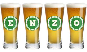 Enzo lager logo