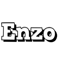 Enzo snowing logo