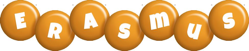 Erasmus candy-orange logo