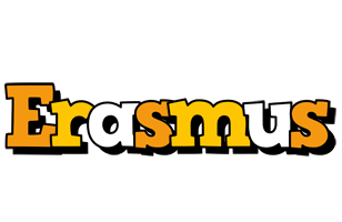 Erasmus cartoon logo
