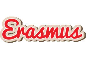 Erasmus chocolate logo