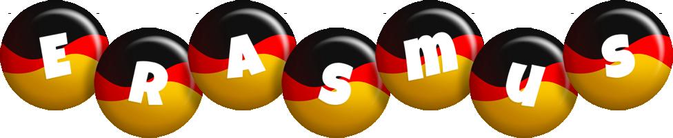 Erasmus german logo