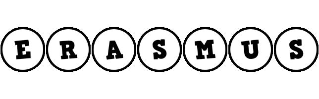 Erasmus handy logo