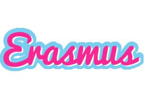 Erasmus popstar logo
