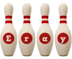 Eray bowling-pin logo