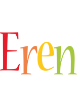 Eren birthday logo
