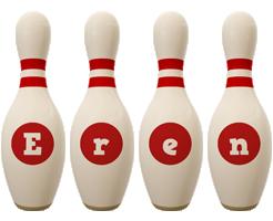 Eren bowling-pin logo
