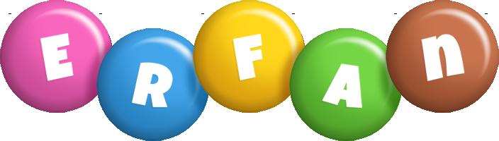 Erfan candy logo