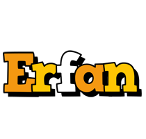 Erfan cartoon logo