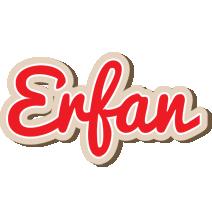 Erfan chocolate logo
