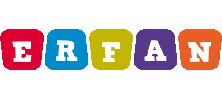 Erfan daycare logo
