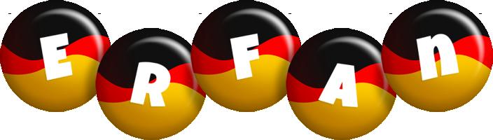 Erfan german logo