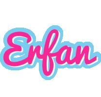 Erfan popstar logo
