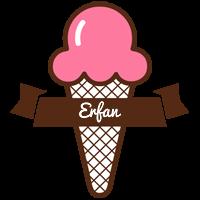 Erfan premium logo