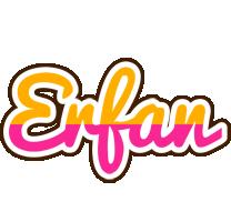 Erfan smoothie logo