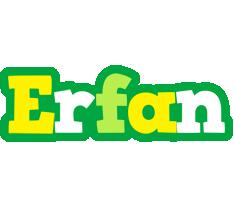 Erfan soccer logo