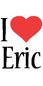 Eric i-love logo