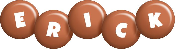 Erick candy-brown logo