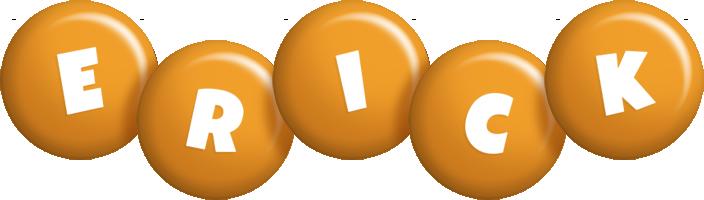 Erick candy-orange logo