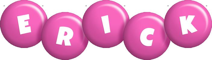 Erick candy-pink logo