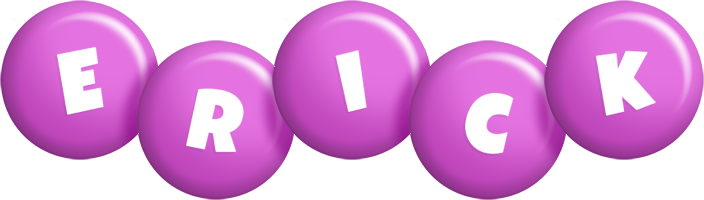 Erick candy-purple logo