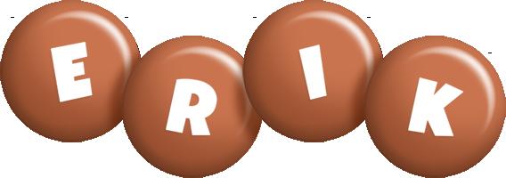 Erik candy-brown logo