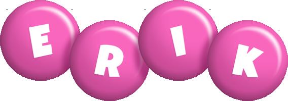 Erik candy-pink logo