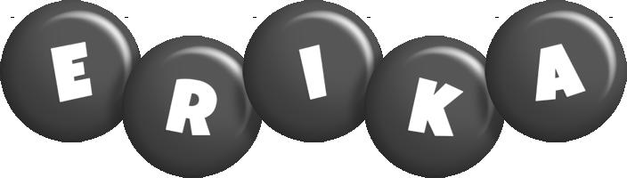 Erika candy-black logo