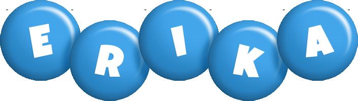 Erika candy-blue logo