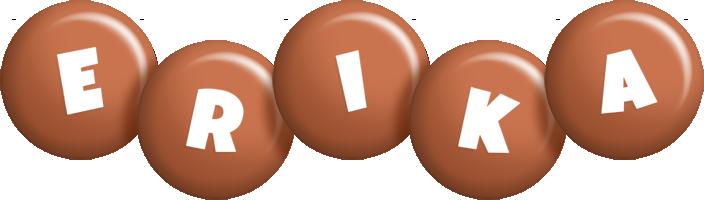 Erika candy-brown logo