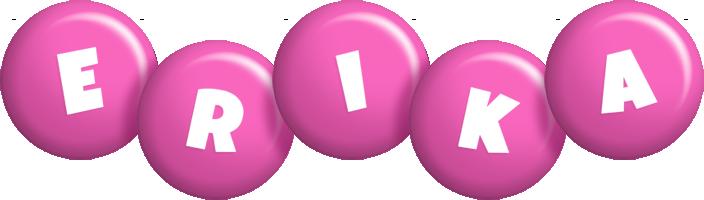 Erika candy-pink logo