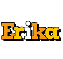 Erika cartoon logo