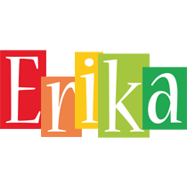 Erika colors logo