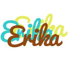 Erika cupcake logo