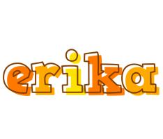 Erika desert logo