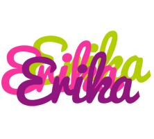 Erika flowers logo