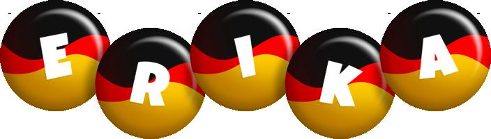 Erika german logo