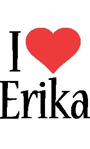 Erika i-love logo