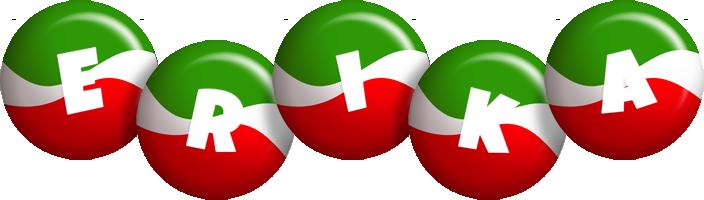 Erika italy logo