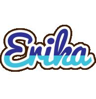 Erika raining logo