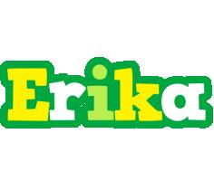 Erika soccer logo