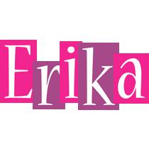 Erika whine logo