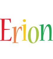 Erion birthday logo