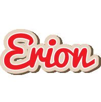 Erion chocolate logo